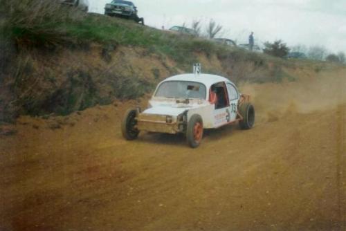 Karl Heinz, Peter & Frank Moczarski 1984 Goddelsheim & Geilenkirchen 2 WD EB mit 1300ccm VW Golfmotor Quelle: Frank Moczarski