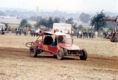Karl Heinz + Peter Moczarski 1981 Frechen EB Fiat 1,3 l Quelle: Frank Moczarski