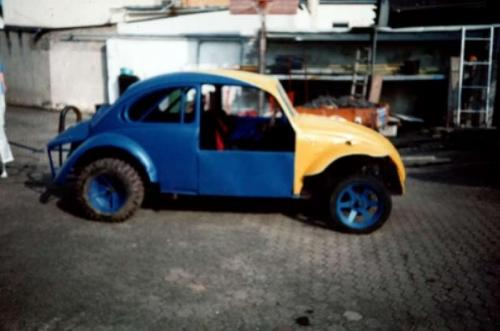 Ricky Holzleitner 1989 Eifelmeisterschaft VW Käfer Quelle: Ricky Holzleitner
