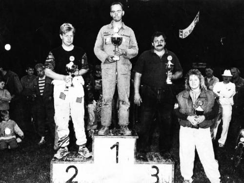 1. Team Wichmann 2. Frank Rietze 3. Günther Schwebs 4. Judith Klostermann Quelle: Borchard König