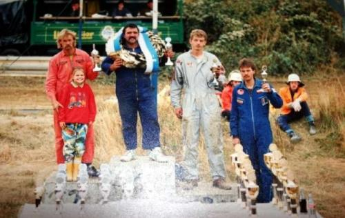 Dauborn 1991 Siegerehrung Quelle: M. Rethmann