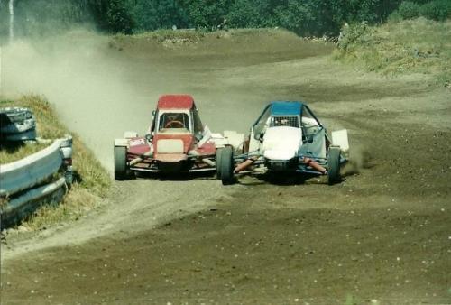 Udo Brandt rotes Fahrzg. 1999 Hoope WRC - BMW 4x4 Quelle: Udo Brandt