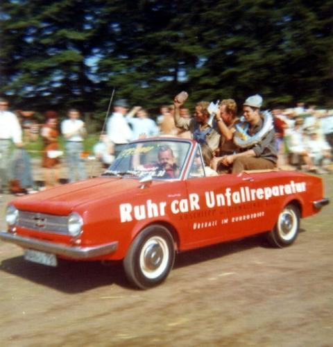 """Fuzzy Winkelmann """"Die Wühlmäuse"""" ca. 1969 Quelle: R. Winkelmann"""